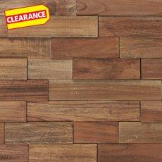 Clearance! Teak Panel Parts Wood Mosaic
