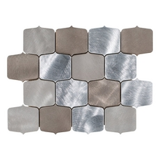 Montage Dune Geo Brushed Metallic Mosaic