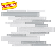 Clearance! Clarity Stone Blend Polished Linear Mosaic