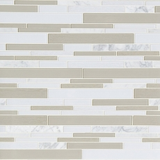 Montage Paros Summer Stone Polished Glass Mosaic
