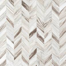 Golden Valley Chevron Marble Mosaic