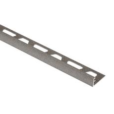 Schluter Jolly Aluminum Stone Gray 1 2in Pvc 8 Ft 2 1 2