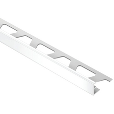 Schluter JOLLY PVC Bright White 1/2in. PVC 8 ft. 2-1/2 in. Tile Edging Trim