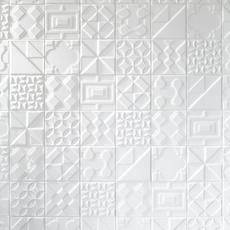 Heritage Meringue Decorative Ceramic Tile