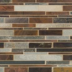 Tile Shop Richmond Va >> Copper Canyon II Metallic Mosaic - 12in. x 12in ...