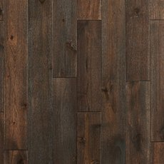 Dark Acacia Hand Scraped Solid Hardwood