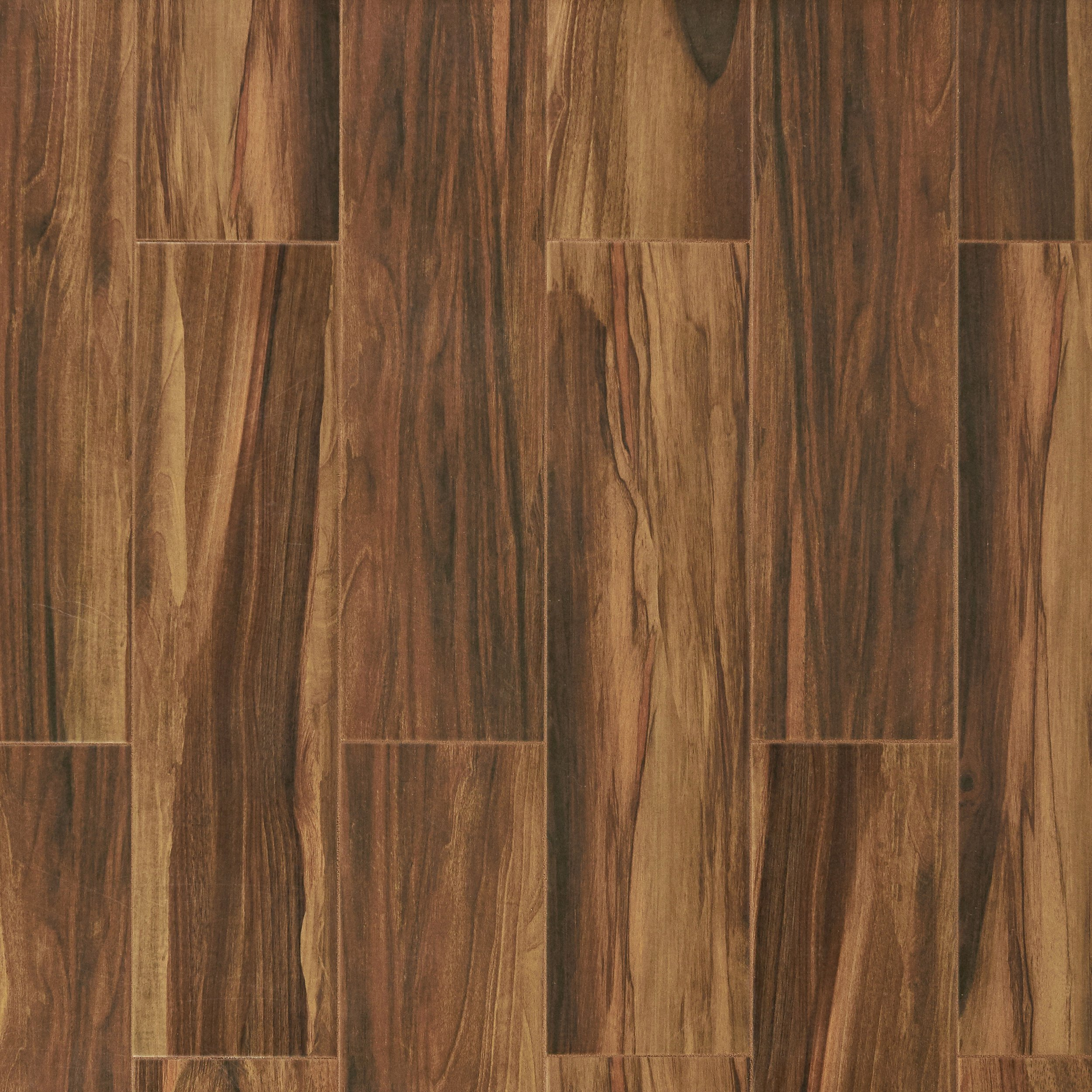 Porcelain Tile Wood Plank: Marina Walnut Wood Plank Porcelain Tile