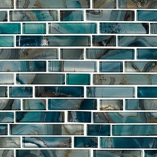 Montage Harbour Island Polished Linear Mosaic 12in X
