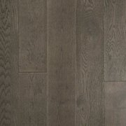 White Gray Oak Hand Scraped Wire Brushed Engineered Hardwood