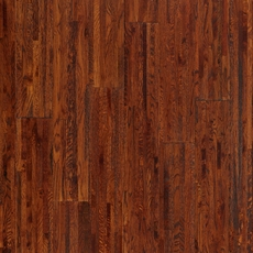 Cognac Oak Hand Scraped Wire Brushed Solid Hardwood
