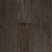 Gray American Maple Hand Scraped Solid Hardwood