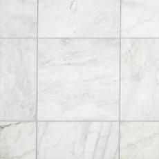Ocean White Honed Marble Tile