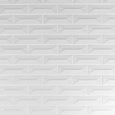 Heirloom Pewter Linen 3D Porcelain Tile