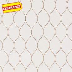 Clearance! Serene Ivory Tear Drop Limestone Mosaic