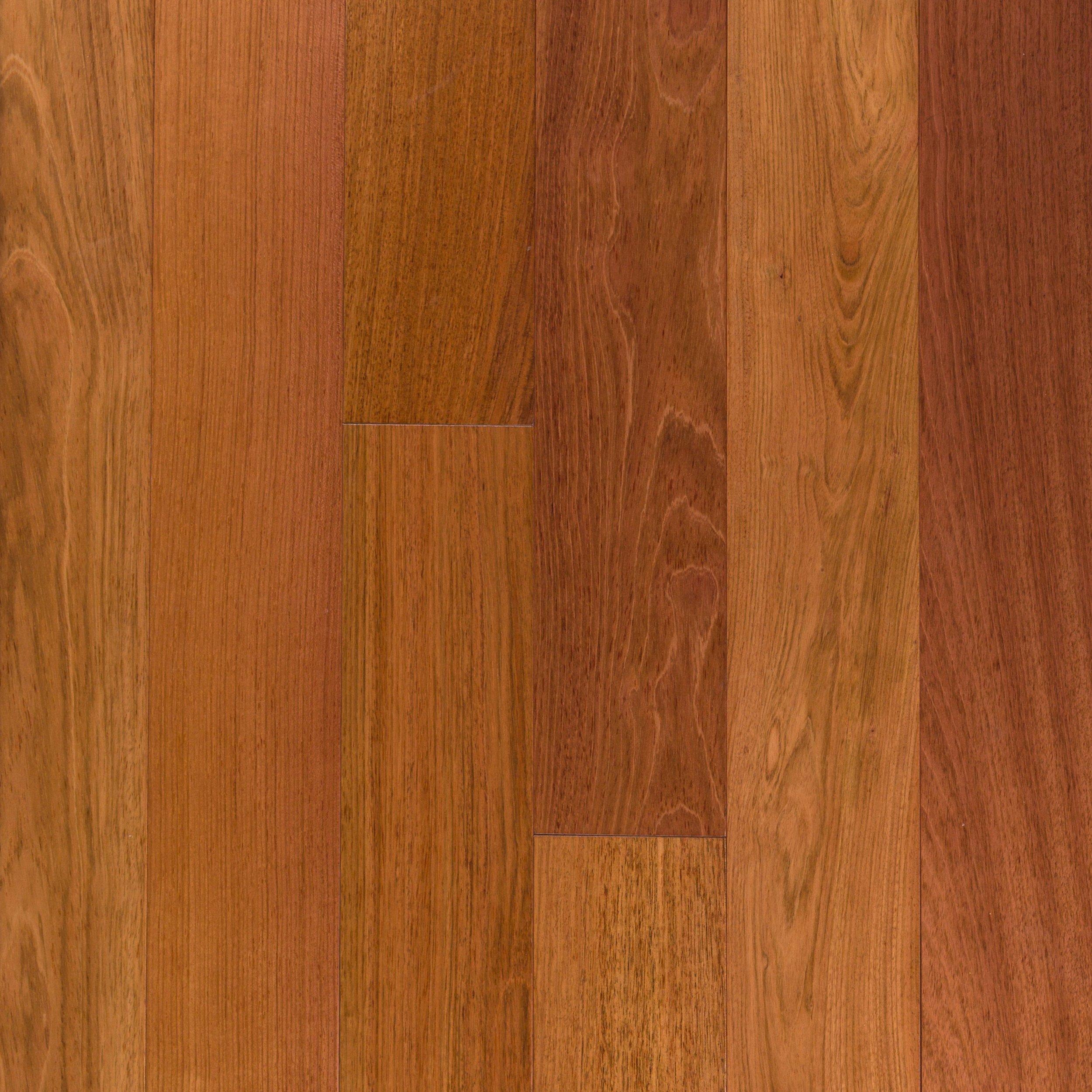 natural brazilian cherry smooth solid hardwood