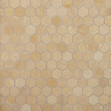 Jerusalem Gold Hexagon Limestone Mosaic