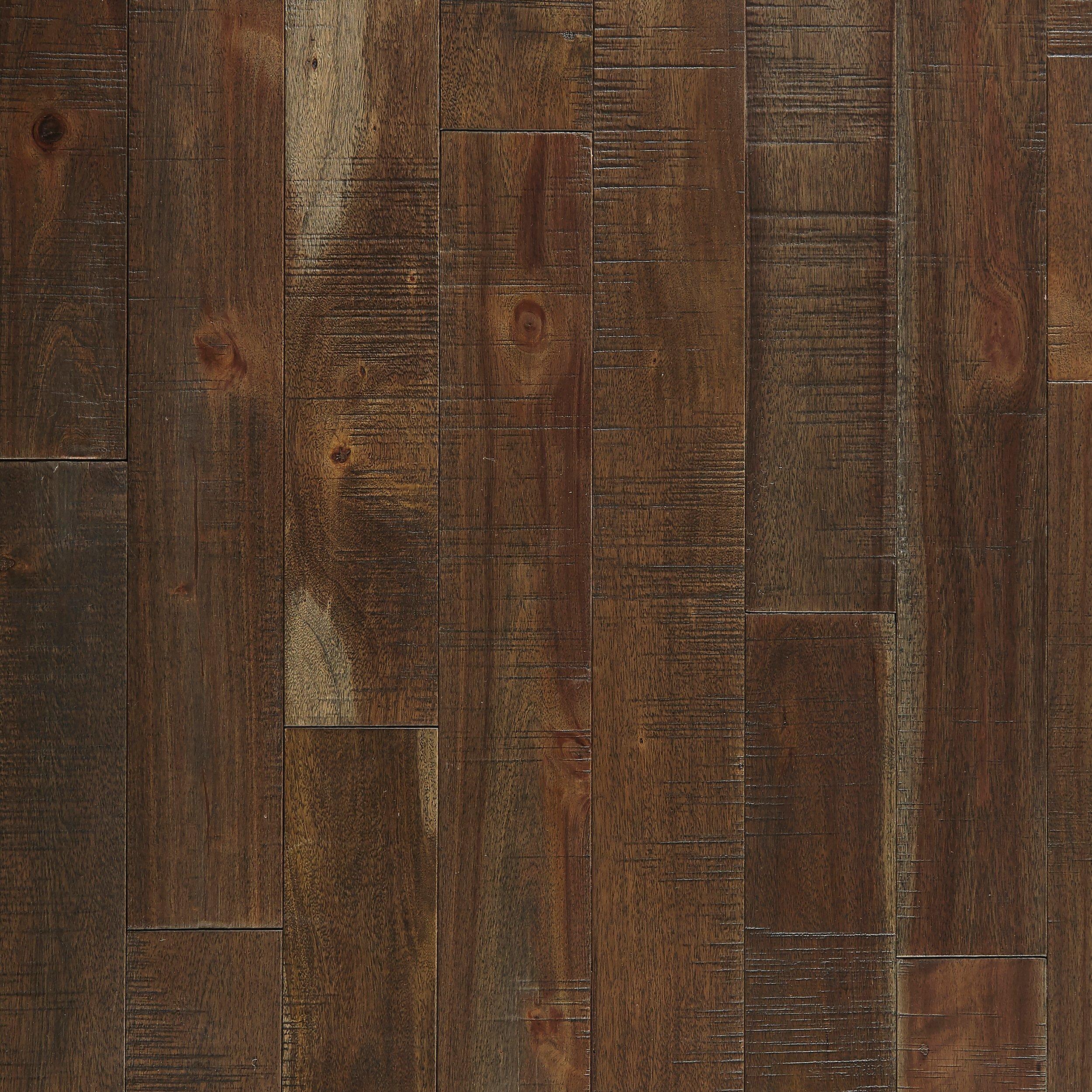 barn door acacia hand scraped solid hardwood - Hand Scraped Hardwood
