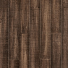 EcoForest Vintage Taupe Hand Scraped Locking Stranded Bamboo