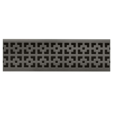 Compotite 36in. Mission Design Oil Rubbed Bronze Grate