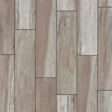 Tahoe Silver Wood Plank Porcelain Tile 6in X 24in
