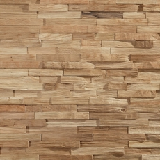 Dimensions Hardwood Natural White Oak Wall Plank Panel 4