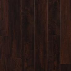 Dark Mahogany Hand Scraped Plank with Cork Back