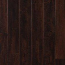 Dark Mahogany Rigid Core Luxury Vinyl Plank - Cork Back