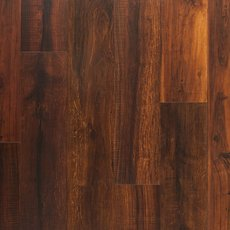 Mahogany High Gloss Rigid Core Luxury Vinyl Plank Cork