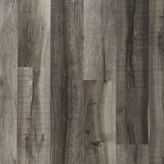 Nucore Mixed Gray Hand Scraped Plank With Cork Back 6 5mm 100376847 Floor And Decor
