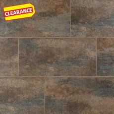 Clearance! Graphite Groutable Vinyl Tile
