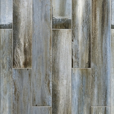 Lexington Blue Wood Plank Porcelain Tile 6 X 33