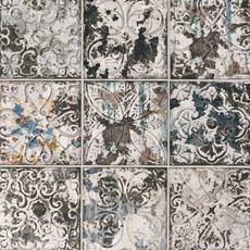 Ornato Aged Dark Ceramic Tile 8 X 8 100402478 Floor