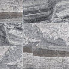 Titanium Gray Polished Marble Tile