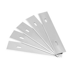 Goldblatt 3.5in. Glass Scraper Blade - 5pk.