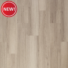 New! DuraLux Performance Valley Mist Luxury Vinyl Plank with Foam Back