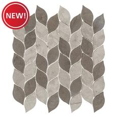 New! Maravilla Mixed Leaf Limestone Mosaic