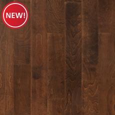 New! Mocha Birch Smooth Engineered Hardwood