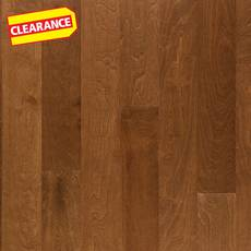 Clearance! Honey Birch Smooth Engineered Hardwood