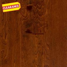 Clearance! Kahlua Birch Hand Scraped Engineered Hardwood