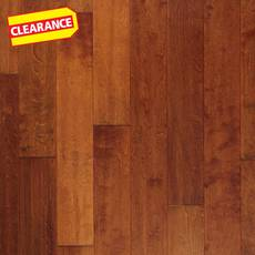 Clearance! Butterrum Birch Hand Scraped Engineered Hardwood