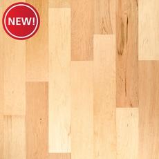 New! Natural Maple Smooth Locking Engineered Hardwood
