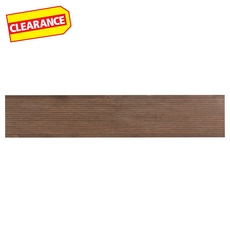 Clearance! Merbau Deck Brown Wood Plank Porcelain Tile