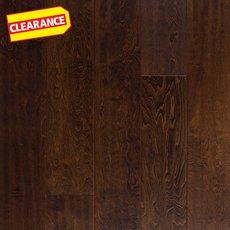 Clearance! Walnut Birch Hand Scraped Engineered Hardwood