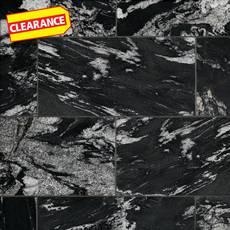 Clearance! Nero Athens Polished Granite Tile