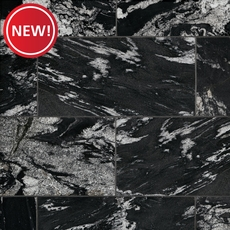 New! Nero Athens Polished Granite Tile