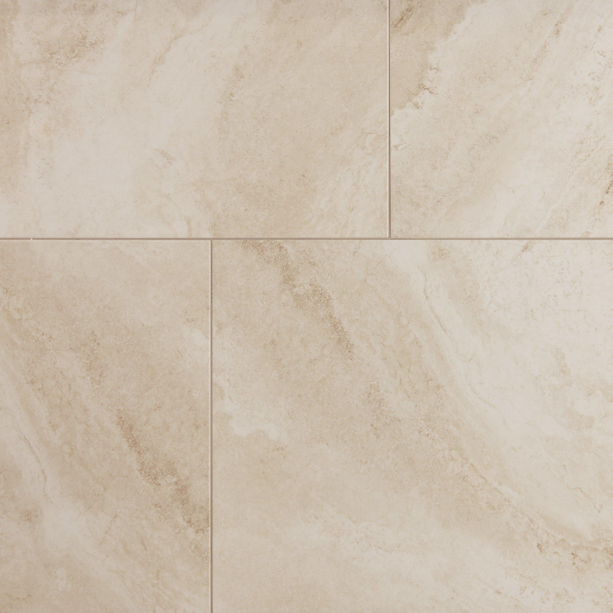 Austin Almond Polished Porcelain Tile 30 X 30 100414838 Floor