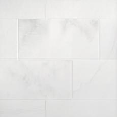 Thassos Standard Polished Marble Tile
