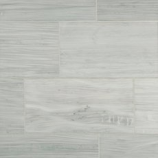 Athena White Polished Marble Tile