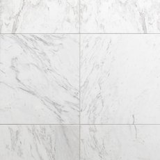 Volakas Light Honed Marble Tile