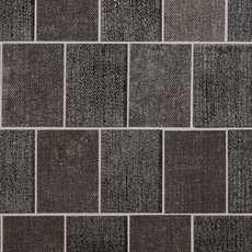 Graphite Denim 3 x 4 in. Brick Glass Mosaic